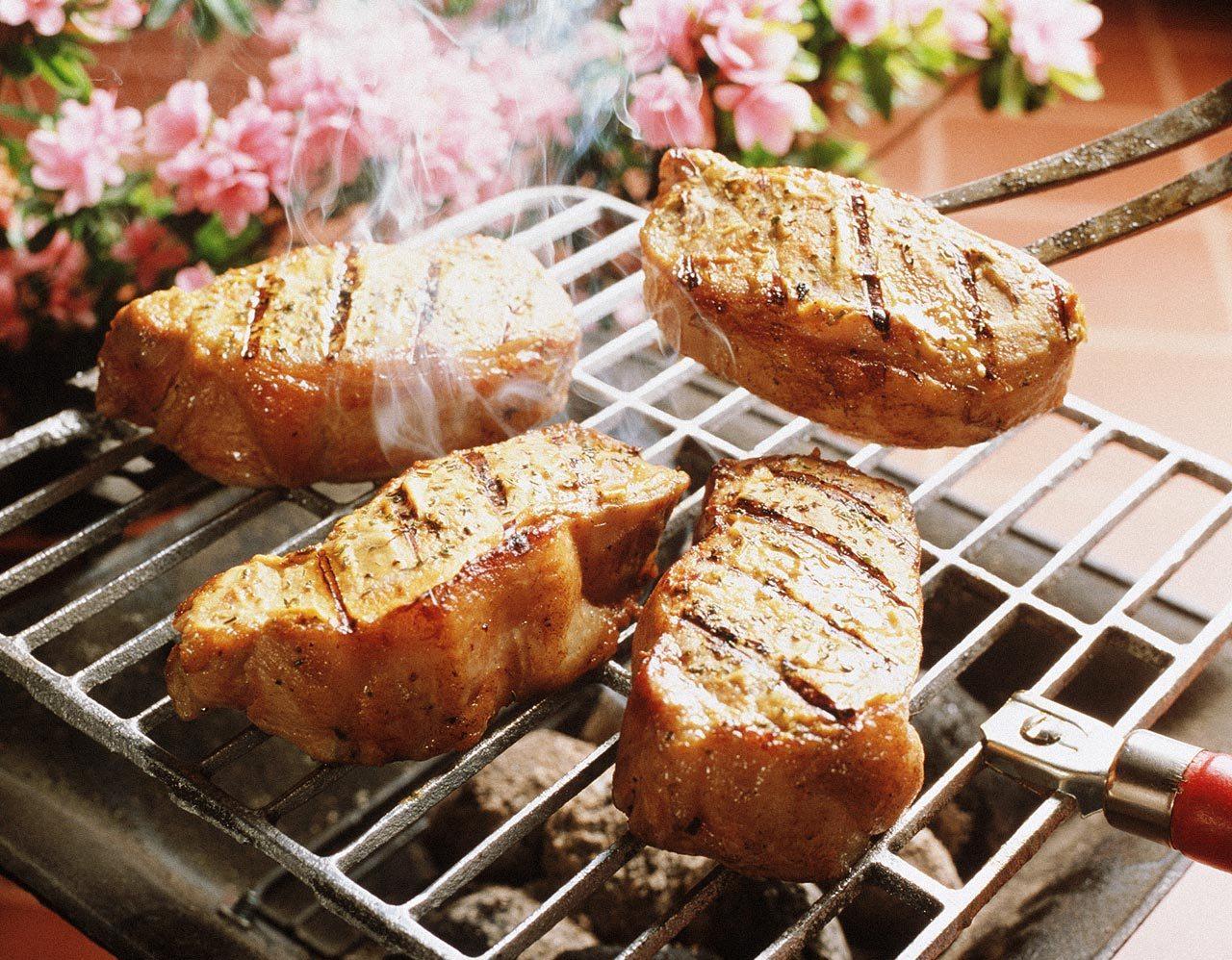 Блюда мяса гриле рецепты